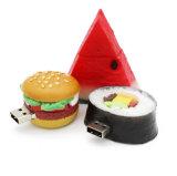 Azionamento della penna del USB personalizzato PVC dell'azionamento dell'istantaneo del USB dei sushi dell'alimento