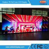 P6 SMD LED couleur Outdoor Location mur avec la SCA