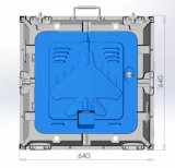 P10 실내 풀 컬러 LED Screen/LED 전시에 의하여 특색지어지는 Die-Casting 알루미늄 Cabient