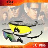 Deportes tácticos multi calientes de los vidrios del Shooting del color X100 que compiten con los anteojos Eyewear a prueba de viento