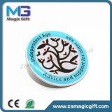 Spitzenverkaufs-Blumen-Metallabzeichen für Reklameanzeige