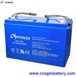 Het volledig-verzegelde Anti-diefstal ZonneGel van de Batterij 12V 100ah van het Gel van de Opslag van de Schroef