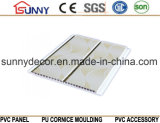 Painel decorativo material impermeável do painel de parede do PVC do teto do PVC do painel do PVC da impressão