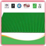 La Base de goma antideslizante Gimnasio Piso alfombra de goma acanalada verde