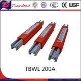 Sola barra de distribución de la grúa de poste de la fabricación