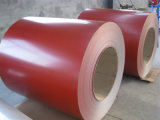 Vooraf geverfte Gegalvaniseerde Staalplaat/de Kleur Met een laag bedekte Rollen PPGI van het Staal
