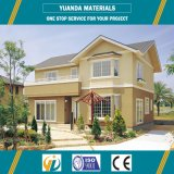 Estructura pequeña casa ligera de acero prefabricada OSB XPS Panel Villas