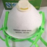 Atemschutzmaske-schützende Schablone GR.-8510V mit Ventil