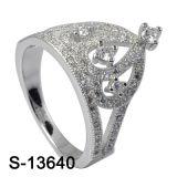 새 모델 크라운 보석 형식 반지 은 925