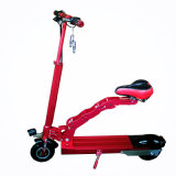 大人のための2シートが付いている電気バイクを折る2車輪