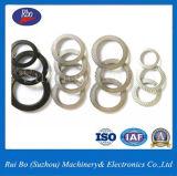 Arandela de bloqueo del nudo de la cara del doble del acero inoxidable de la ISO DIN9250/del acero de carbón