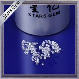 1mm Full Stock Cor branca de alta qualidade Cubic Zirconia Gemstones for Fashion Jewelry