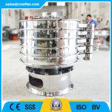 Tamiz vibratorio del polvo circular rotatorio