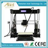 Anet 2 바탕 화면 Laser 3D 인쇄 기계 중국 공장 제조자 싼 3D 인쇄 기계 기계 가격