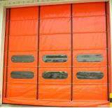 Puerta empilable de alta velocidad colorida