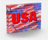 Récompense acrylique d'octogone (récompense patriotique d'indicateur de pays des Etats-Unis)