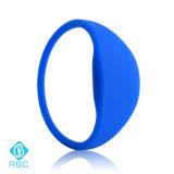 Bracelete durável do RF dos Wristbands do Tag 1k do silicone RFID
