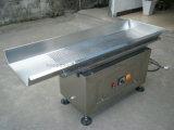 Microplaquetas de Tortilla automáticas que alimentam o transporte no aço inoxidável