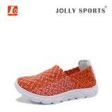 Neue Form-Freizeit-Art-bunte Webart-Schuhe für Frauen-Damen