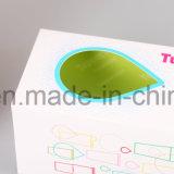 rectángulos de papel de empaquetado del cosmético de alto nivel 2018custom