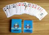 Wasserdichte Belüftung-Spielkarten im Plastikfall