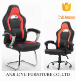 Diseño de moda PU Juego de oficina de la silla Reclinable silla de oficina de juegos