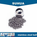 bola de acero inoxidable G100 del SUS 304 de 4.763m m