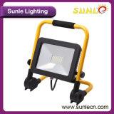 Luz amarilla/negra de la maneta de la cubierta 10W LED de inundación (SLFAP31)