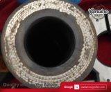 Boyau en caoutchouc de Reinforecement de fil d'acier de pompe concrète