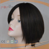 De beste Verkopende Hoogste Toebehoren van de Zijde van het Menselijke Haar voor Hoofd Hoogste Pruik (pPG-c-0062)