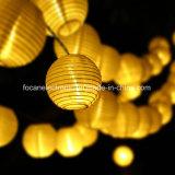 Lumières solaires de chaîne de caractères de lanterne chinoise