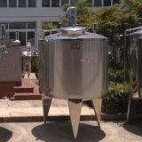 Réservoir de chauffage de vapeur d'acier inoxydable avec l'agitateur