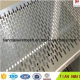 Lamina di metallo perforata di alta qualità con il trattamento di taglio del laser