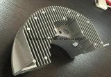hecho personalizado chorreo de arena o Granallado aluminio moldeado a presión el disipador de calor