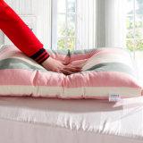 Cuscino comodo del cotone di colore rosa di lusso standard della banda per l'hotel