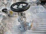 Kohlenstoffstahl-Winkel-Typ Kugel-Ventil-Absperrventil der LÄRM Standard-J44h für chemische Industrie
