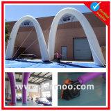 立方体の整形膨脹可能な空気PVCアーチ