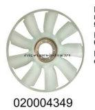 Ventilatorflügel 704mm für LKW-Triebwerkgebläse-Kupplung 020004349
