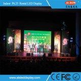 Alquiler P6.25 Pantalla LED de interior para la Etapa