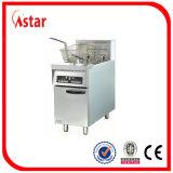 De Vrije Bevindende Frituurpan van Astar met de Micro- Controle van de Computer, de Grote Commerciële Braadpan van de Capaciteit