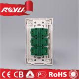 Стенная розетка высокого качества силы всеобщая Multi электрическая