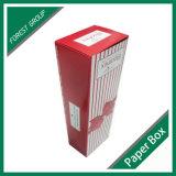 Caixa de empacotamento extravagante da flor de papel do projeto