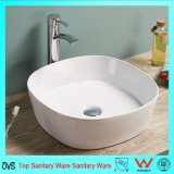 Populaire The Austalia Market Céramique Wash Bowl Salle de bain Silm Thin Edge Countettop Basin