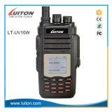 Radio Lt.-UV10W VHF/UHF van de Band van de hoge Macht de Dubbele Radio Handbediende