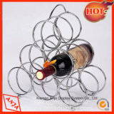 Металлический держатель для бутылок вина Wine дисплей для установки в стойку для хранения