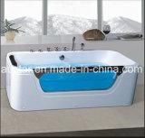 Nuevo BALNEARIO de la bañera del masaje del rectángulo del diseño con Ce y RoHS para la sola persona (AT-LW0798)