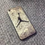 La caja del teléfono 3D relieve de impresión Jordan Mate móvil para iPhone 7