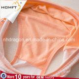Ropa interior de moda modal Panty de las señoras de la ropa interior de las chicas jóvenes de la impresión de la raya vertical de la venta caliente