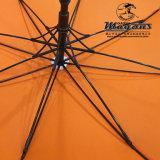 Прямой гольф стеклоткани рекламируя зонтик
