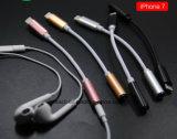 Nylon 12cm 3.5mm Adaptateur de convertisseur audio casque 8 broches-Ning câble USB pour iPhone7 / 7 Plus